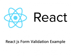 Get Current Date Month Year in React js