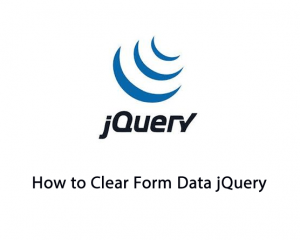 How to Clear Form Data jQuery