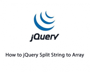 How to jQuery Split String to Array