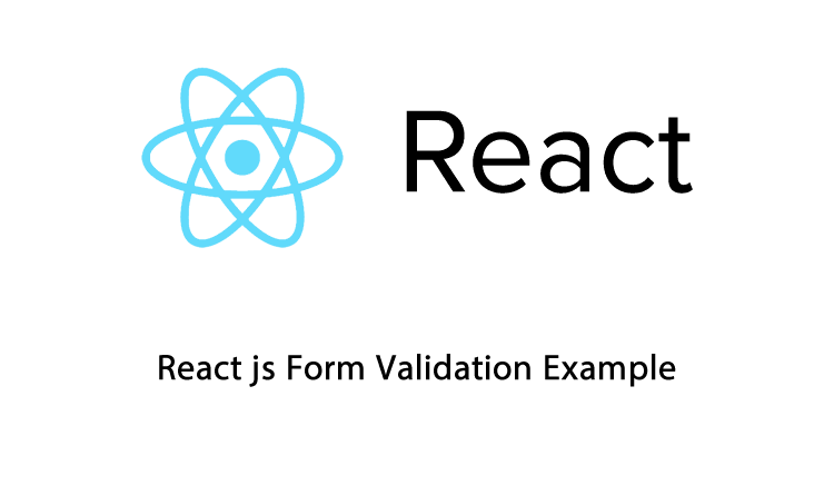 React js Form Validation Example